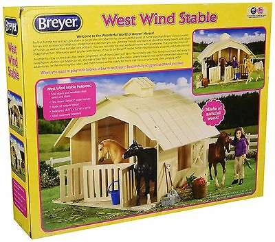 Breyer West Wind Stable Toy