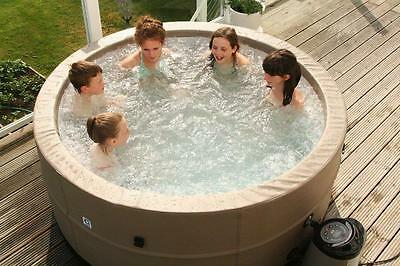 "Swift Current Portable Rigid Hot Tub - 6 Person Portable Spa Plug ""N"" Play"