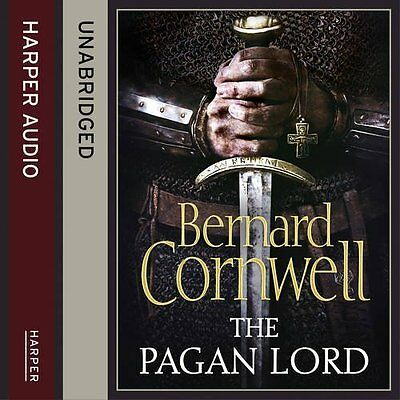 Pagan Lord by Bernard Cornwell CD-Audio Book New