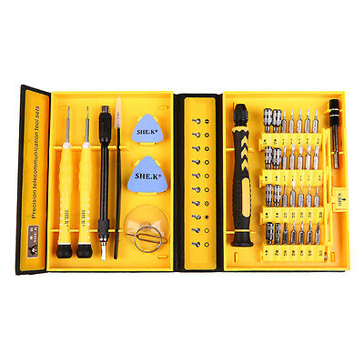 38 in1 Precision Screw Driver Cell Phone Repair Tools Set Mobile Flexible Kit BK