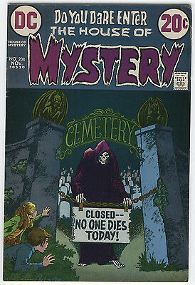 House Of Mystery #208 The Creator Of Evil Classic Bronze Age Horror FN