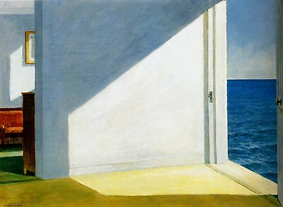 Edward Hopper Rooms By the Sea Poster A4 A3 A2 A1 Gift Present OC0170