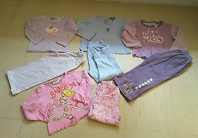 Lot ensemble pyjama velours doux BARBIE 4 ans filles