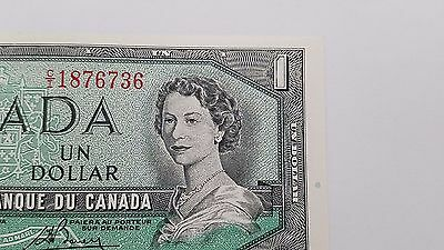 Two 1954 Canadian $1 Bills - BABN