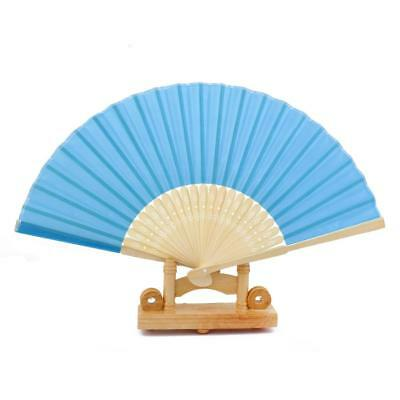Held cinese pieghevole di bambù Retro mano panno favore Wedding Fan Summer