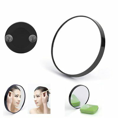10X Magnifying Glass Cosmetics Mirror With Suction Cups Beauty Makeup Tool JFBK