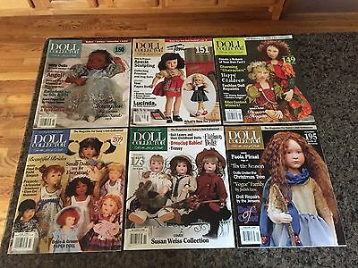 Contemporary Doll Magazine 2007 & 2008 Lot of 6 Back Issues