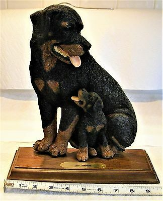 Rottweiler Statue, Perfect Condition, over 26 years old
