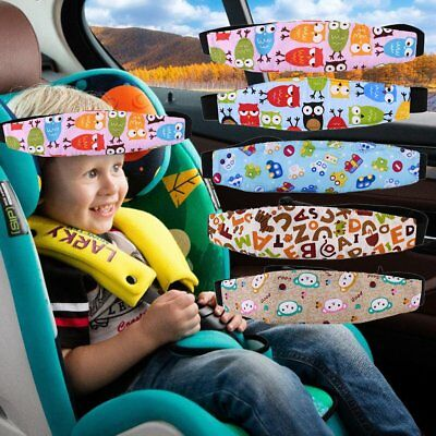 Creative Car Seat Headrest Kids Children Outdoor Travel Head Support Pillow D#BK
