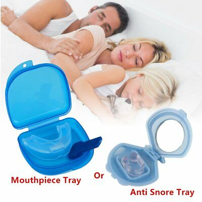 Stop Bruxism Anti Snoring Device Mouth Guard Teeth Grinding Relief Sleep Aid BK