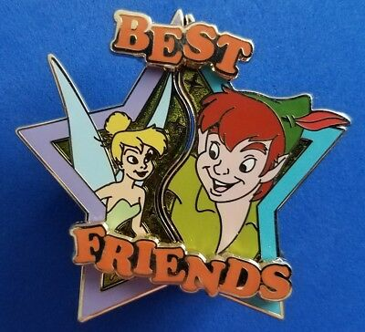 Disney ~ Best Friends PETER PAN & TINKER LE 3000 Pin