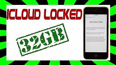 Apple iPod touch 5th Generation a1509 (16GB) BLACK AS IS
