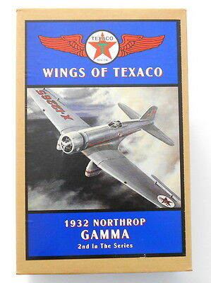 A Wings Of Texaco 1932 Northrop GAMMA Die Cast Bank 2nd In The series ERTL NEW