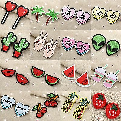 36 Size Embroidered Patches Sewing Jeans Bag Cloth Fabric Badge for Bag Hat Jean