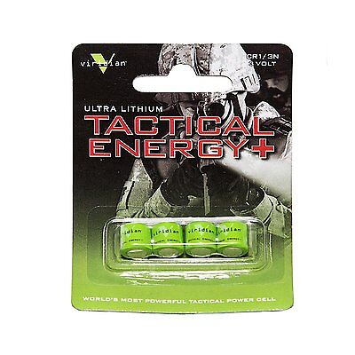 Viridian CR1/3N 3V Lithium Battery (4 Of Pack)   Tactical