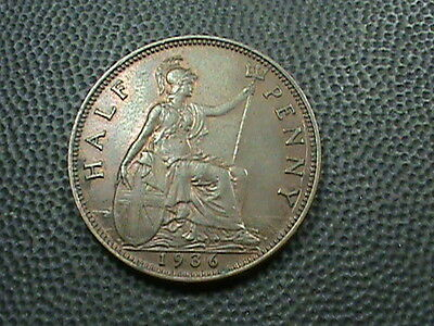 GREAT  BRITAIN    1/2  Penny   1936    ALMOST  UNCIRCULATED