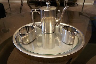German Antique Art Deco .800 silver Tea or Coffee beverage set