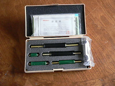 Mitutoyo Set Of 5 Micrometer Standards 1-5 Inch New