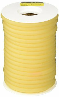 "50 FEET 3/8"" I.D x 3/64"" wall  LATEX SURGICAL RUBBER TUBING AMBER 3/8ID REEL"