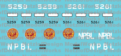 N Scale - Norfolk & Portsmouth Belt Line Patch Out Set