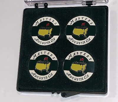 2017 Masters Ball Marker 4 pack Augusta National coin style new ball markers