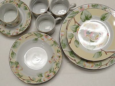 LOT OF 20 PCS  Fairfield Dogwood FINE CHINA SERVING OF FOUR LOOKS UNUSED