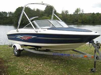 2003 - 2007 Bayliner 175 Cockpit and Bow Cover Polyester