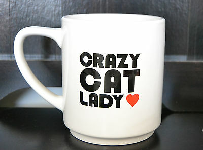 Crazy Cat Lady Large Coffee Mug