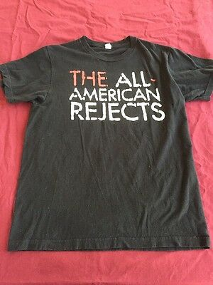 The All-American Rejects Kids In The Street Tour Concert T-Shirt Size M Preowned