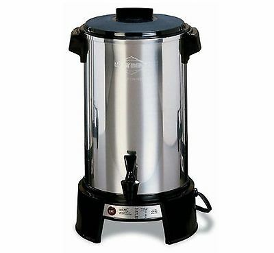 West Bend 43536 Aluminum 36-Cup Commercial Coffee Urn