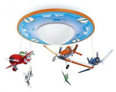 Philips Disney Edition Planes LED Deckenleuchte Orange Blau Kinder Lampen