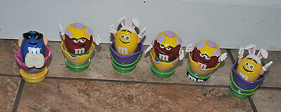 Lot of 6 M&M's Easter Toppers