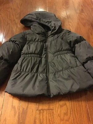 Old Navy Frost Free Puffer Jacket Toddler Girl Black Size 5T