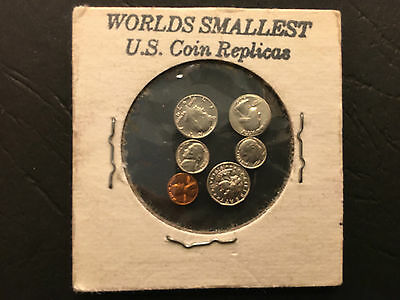World's smallest US Coins novelty set