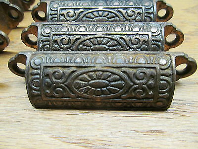 Old Ornate Drawer Pulls...nice