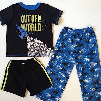 Just One You CARTERS BOYS PAJAMAS SET 3 Piece Space Size 6
