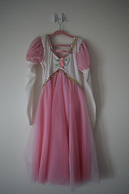 Child Large 12-14 Pink and White Ballet Costume