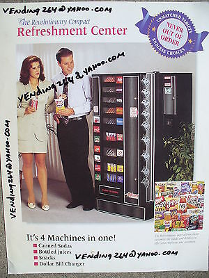 SODA-SNACK COMBO VENDING MACHINE-DRINKS SNACKS-antars