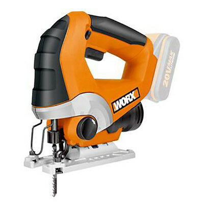 Cordless Jigsaw Worx 20V Li-ion NAKED-Battery and Charger not included
