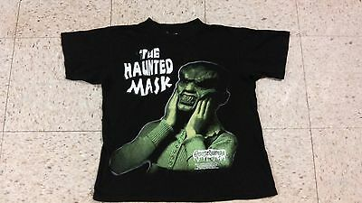 Vintage 1996 Youth L Goosebumps Kids Shirt The Haunted Mask