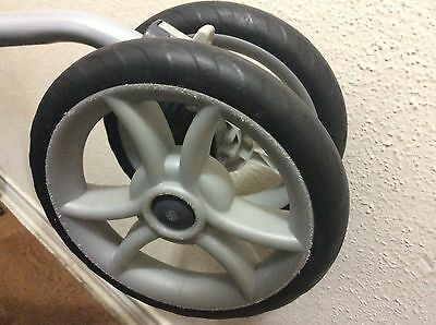 """Replacement DOUBLE FRONT WHEEL for Graco Stroller. 8"""""""