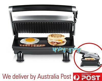 Sunbeam BBQ Grill Sandwich Press Toastie Bread Toast Maker Griddle Wrap Heater