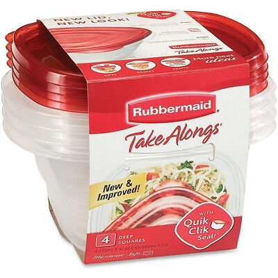 Rubbermaid 1-Gal TakeAlongs Food Containers FG7F54CATC