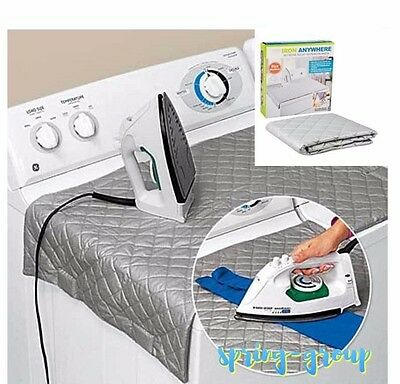 Ironing Mat Portable Easy Iron Pad Heat Blanket Resistant Laundry Dryer Camping