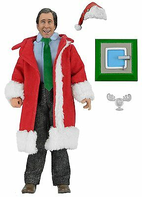 """NECA National Lampoons Christmas Vacation Santa Clark Clothed Figure, 8"""""""