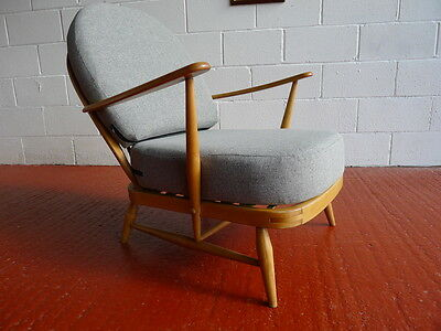 Cushions & Covers Only. Ercol 203 Chair. Light Grey Stitch