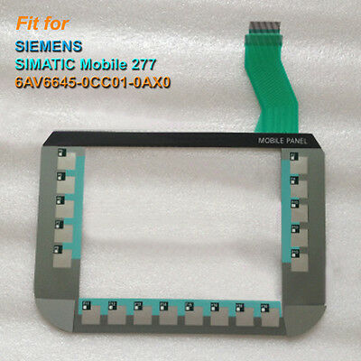 for SIEMENS SIMATIC Mobile Panel 277-8 6AV6645-0CC01-0AX0 Membrane Keypad New