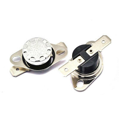 2x Temperature Switch Thermostat KSD301 thermal protection 35°-160°C NC 250V/10A