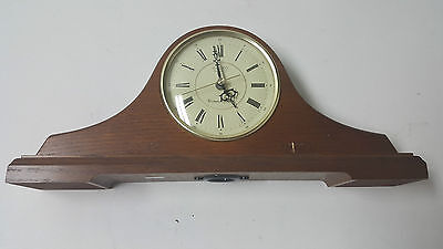 Seiko Quartz Westminster Chime Wooden Mantle Clock