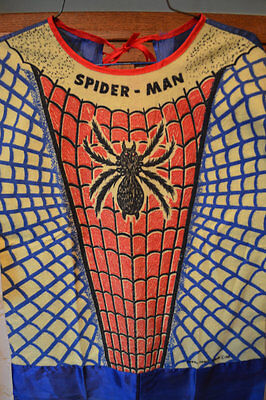 Insanely Rare 1965 Spiderman Halloween Costume Marvel Comics Vintage